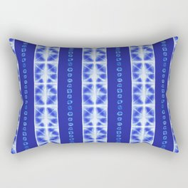 Shibori strips Rectangular Pillow