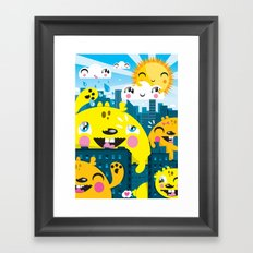 Monsters ( 2007 ) Framed Art Print
