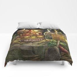 A special delivery / Un envío especial Comforters