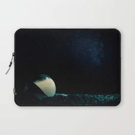 Night at the seaside Laptop Sleeve