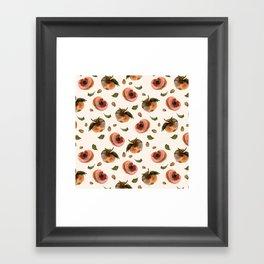 moldy peaches Framed Art Print