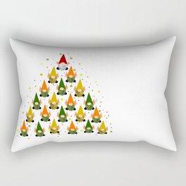 Merry Gnoming Christmas Rectangular Pillow
