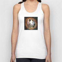 history Tank Tops featuring Wooden History by Marko Köppe