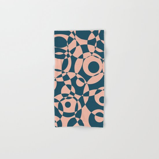 Abstract circles Hand & Bath Towel