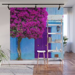 Beautiful Bougainvillea Wall Mural