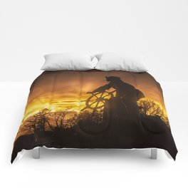 Fisherman's Memorial Sunset Comforters
