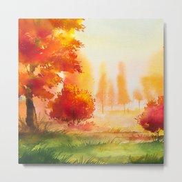 Autumn landscape #2 Metal Print
