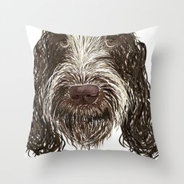 SpinoneLove Vivi 2 Throw Pillow