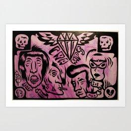 Cramped Art Print