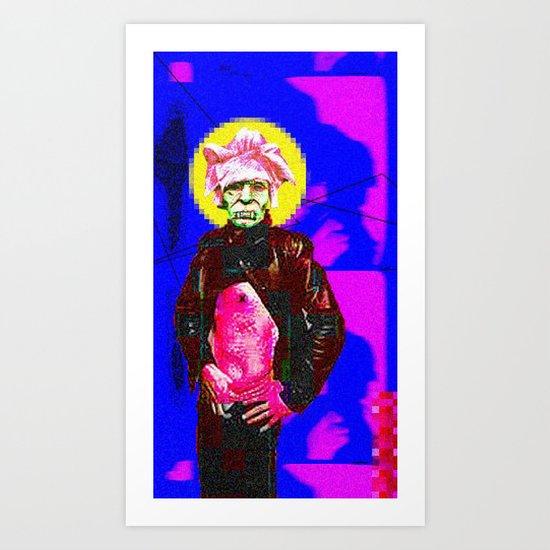 Return to the Past Thru the Future Art Print