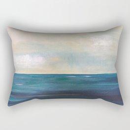 Uncertain Sea Rectangular Pillow