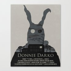 Donnie Darko Poster Canvas Print