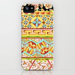 Gypsy Boho Stripe iPhone Case