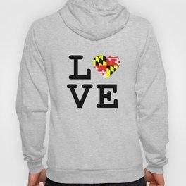 Love Maryland Hoody