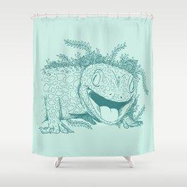 Gecko Shower Curtain
