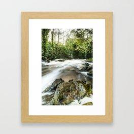 River III Framed Art Print