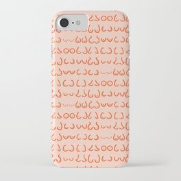 Boobs in all sizes iPhone Case
