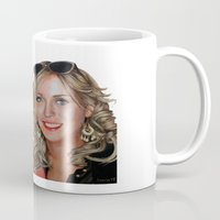 sisters Mugs featuring Sisters by Saoirse Mc Dermott