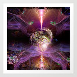 The Awakened Heart Art Print