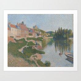 Les Andelys Art Print