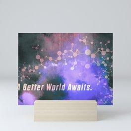 Helix: A Better World Awaits. Mini Art Print