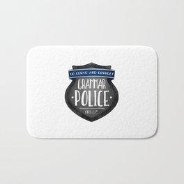 Grammar Police Bath Mat