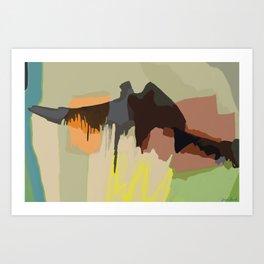 Landscape Contemplation #1 Art Print