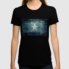 Somalian national flag - Vintage version T-shirt