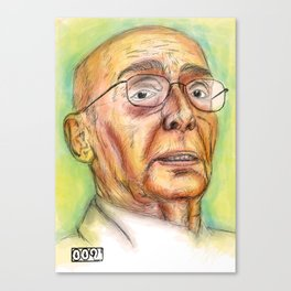 Saramago Canvas Print