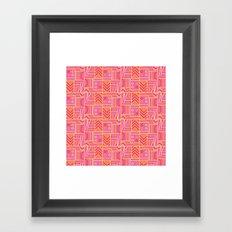 BP 74 Abstract Geo Framed Art Print