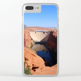 Glen Canyon Dam And Colorado River Clear iPhone Case