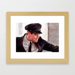 How About A Hug - Jim Carrey In Dumb And Dumber Framed Art Print