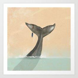 Tail Tale Art Print
