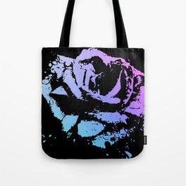 Splattered Rose Tote Bag