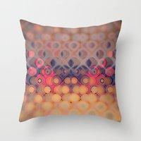 bubbles Throw Pillows featuring Bubbles by PhotoStories