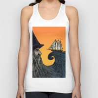 wizard Tank Tops featuring Wizard by Brittany Rae