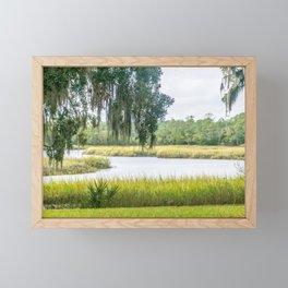 By the Bayou Framed Mini Art Print