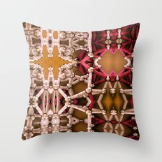 My unseen foreign tact. Throw Pillow