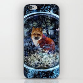 Forest Fox Twilight iPhone Skin