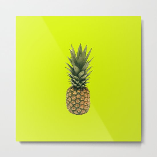 Sweet Pineapple Metal Print