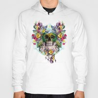 skulls Hoodies featuring SKULLS by RIZA PEKER