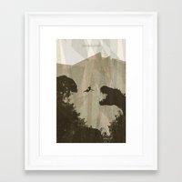 tomb raider Framed Art Prints featuring Tomb Raider by s2lart