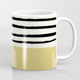 Daffodil Yellow x Stripes Coffee Mug