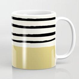 Daffodil Yellow x Stripes Coffee Mug