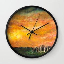 Solstice Wall Clock