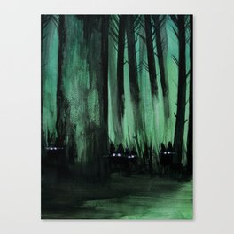 Psypuff forest 01 Canvas Print