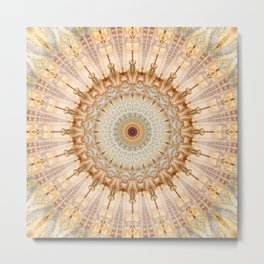 Mandala Castel Sant' Angelo Metal Print