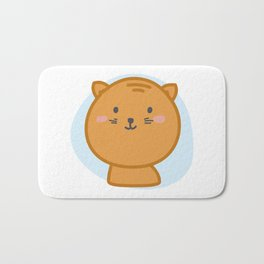 moew *i can customize your cat Bath Mat
