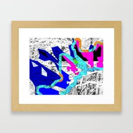 My Backyard Framed Art Print