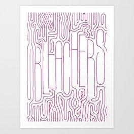 Bleachers Band Poster Art Print